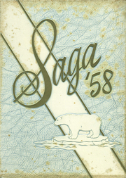 1958 Edition, Creston High School - Saga Yearbook (Grand Rapids, MI)