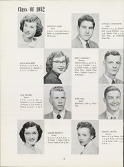 Page 16, 1952 Edition, Grand Ledge High School - Ledge Yearbook (Grand Ledge, MI) online yearbook collection