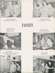 Page 9, 1952 Edition, Grand Ledge High School - Ledge Yearbook (Grand Ledge, MI) online yearbook collection
