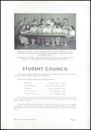 Page 7, 1950 Edition, Kearsley High School - Echo Yearbook (Flint, MI) online yearbook collection