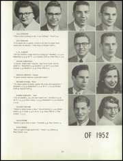 Page 17, 1952 Edition, Kearsley High School - Echo Yearbook (Flint, MI) online yearbook collection