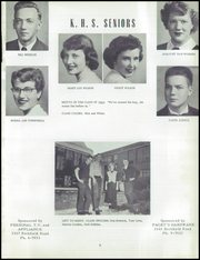 Page 13, 1953 Edition, Kearsley High School - Echo Yearbook (Flint, MI) online yearbook collection
