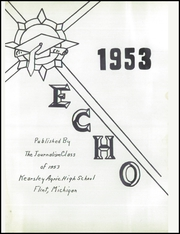 Page 5, 1953 Edition, Kearsley High School - Echo Yearbook (Flint, MI) online yearbook collection