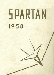 Fitzgerald High School - Spartan Yearbook (Warren, MI) online yearbook collection, 1958 Edition, Page 1