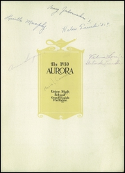 Page 7, 1930 Edition, Union High School - Aurora Yearbook (Grand Rapids, MI) online yearbook collection