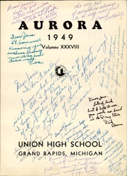 Page 5, 1949 Edition, Union High School - Aurora Yearbook (Grand Rapids, MI) online yearbook collection