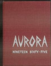1965 Edition, Union High School - Aurora Yearbook (Grand Rapids, MI)