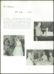 Page 12, 1958 Edition, Lakeview High School - Log Yearbook (Battle Creek, MI) online yearbook collection
