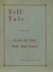 Page 1, 1942 Edition, Holly Area High School - Tell Tale Yearbook (Holly, MI) online yearbook collection