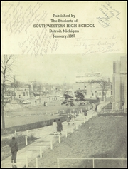 Page 3, 1957 Edition, Southwestern High School - Prospector Yearbook (Detroit, MI) online yearbook collection