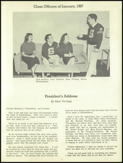Page 7, 1957 Edition, Southwestern High School - Prospector Yearbook (Detroit, MI) online yearbook collection