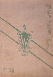 1951 Edition, Warren High School - Warrenite Yearbook (Warren, MI)