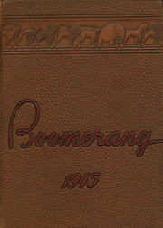 1945 Edition, Holland High School - Boomerang Yearbook (Holland, MI)