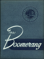 1951 Edition, Holland High School - Boomerang Yearbook (Holland, MI)