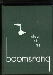 1952 Edition, Holland High School - Boomerang Yearbook (Holland, MI)