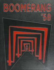 1958 Edition, Holland High School - Boomerang Yearbook (Holland, MI)