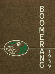 1959 Edition, Holland High School - Boomerang Yearbook (Holland, MI)