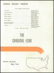 Page 5, 1953 Edition, Melvindale High School - Echo Yearbook (Melvindale, MI) online yearbook collection