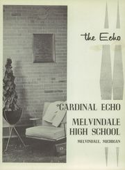 Page 5, 1958 Edition, Melvindale High School - Echo Yearbook (Melvindale, MI) online yearbook collection