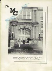 Page 5, 1956 Edition, Mount Clemens High School - Yearbook (Mount Clemens, MI) online yearbook collection