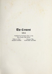 Page 5, 1913 Edition, St Joseph High School - Crescent Yearbook (St Joseph, MI) online yearbook collection