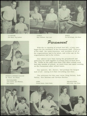 Page 10, 1956 Edition, Grandville High School - Paramount Yearbook (Grandville, MI) online yearbook collection