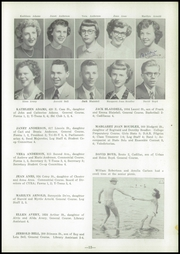 Page 17, 1951 Edition, Cadillac High School - Log Yearbook (Cadillac, MI) online yearbook collection