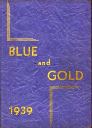 1939 Edition, Cadillac High School - Blue and Gold Yearbook (Cadillac, MI)