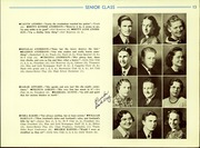Page 15, 1940 Edition, Cadillac High School - Blue and Gold Yearbook (Cadillac, MI) online yearbook collection