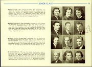 Page 17, 1940 Edition, Cadillac High School - Blue and Gold Yearbook (Cadillac, MI) online yearbook collection