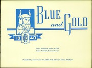 Page 5, 1940 Edition, Cadillac High School - Blue and Gold Yearbook (Cadillac, MI) online yearbook collection