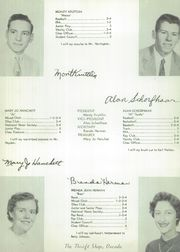 Page 16, 1956 Edition, Oscoda High School - Lumber Jack Yearbook (Oscoda, MI) online yearbook collection