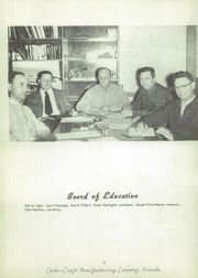 Page 6, 1956 Edition, Oscoda High School - Lumber Jack Yearbook (Oscoda, MI) online yearbook collection