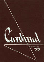 Coldwater High School - Cardinal Yearbook (Coldwater, MI) online yearbook collection, 1953 Edition, Page 1