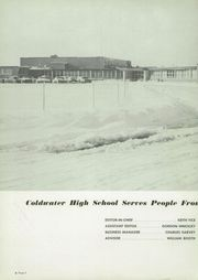 Page 6, 1959 Edition, Coldwater High School - Cardinal Yearbook (Coldwater, MI) online yearbook collection