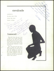 Page 5, 1956 Edition, Clawson High School - Cavalcade Yearbook (Clawson, MI) online yearbook collection