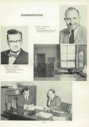 Page 13, 1954 Edition, Okemos High School - Tomahawk Yearbook (Okemos, MI) online yearbook collection
