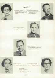 Page 15, 1954 Edition, Okemos High School - Tomahawk Yearbook (Okemos, MI) online yearbook collection