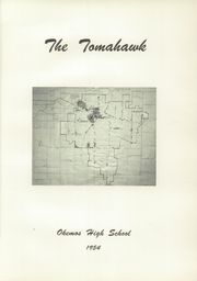 Page 5, 1954 Edition, Okemos High School - Tomahawk Yearbook (Okemos, MI) online yearbook collection