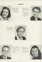 Page 13, 1955 Edition, Okemos High School - Tomahawk Yearbook (Okemos, MI) online yearbook collection
