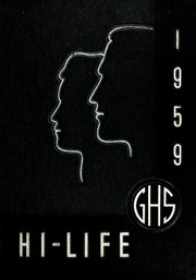 1959 Edition, Greenville High School - Hi Life Yearbook (Greenville, MI)