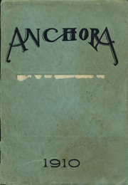 1910 Edition, Mason High School - Anchora Yearbook (Mason, MI)