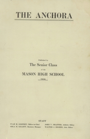 Page 3, 1910 Edition, Mason High School - Anchora Yearbook (Mason, MI) online yearbook collection