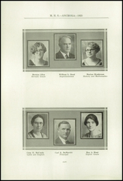Page 12, 1925 Edition, Mason High School - Anchora Yearbook (Mason, MI) online yearbook collection