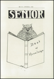 Page 15, 1925 Edition, Mason High School - Anchora Yearbook (Mason, MI) online yearbook collection