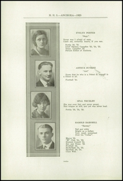Page 16, 1925 Edition, Mason High School - Anchora Yearbook (Mason, MI) online yearbook collection