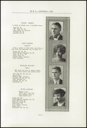 Page 17, 1925 Edition, Mason High School - Anchora Yearbook (Mason, MI) online yearbook collection