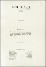 Page 5, 1925 Edition, Mason High School - Anchora Yearbook (Mason, MI) online yearbook collection