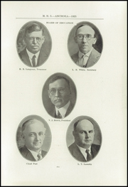Page 9, 1925 Edition, Mason High School - Anchora Yearbook (Mason, MI) online yearbook collection