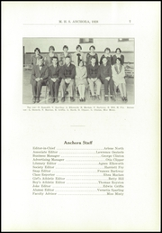 Page 11, 1928 Edition, Mason High School - Anchora Yearbook (Mason, MI) online yearbook collection